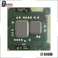 Intel Core i7 i7-640M 640M SLBTN 2,8 GHz Dual-Core Quad-Hilo de procesador de CPU 4W 35W hembra G1 / rPGA988A