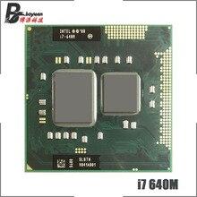 Процессор Intel Core i7 640M i7 640M SLBTN, 2,8 ГГц, двухъядерный процессор с четырехъядерным процессором, 4 Вт, 35 Вт, розетка G1 / rPGA988A