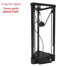 3D Printer Linear Guide DIY Kit 3D Metal Structure Printer 2016 New Kossel Delta Impresora  Auto Leveling Large Printing Size