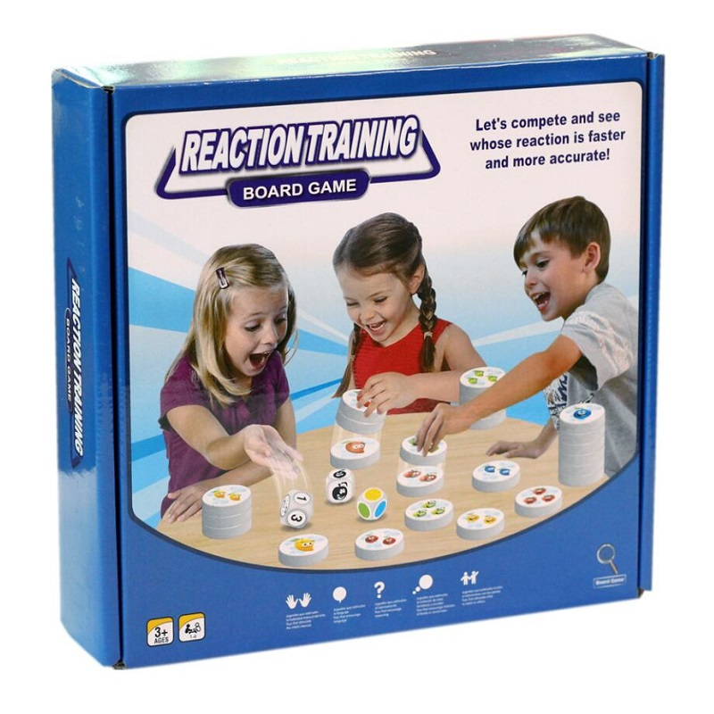 Fruit Reaction Game Logical Thinking Reasoning Reaction Training Parent-child Interaction Early Education Educational Toy