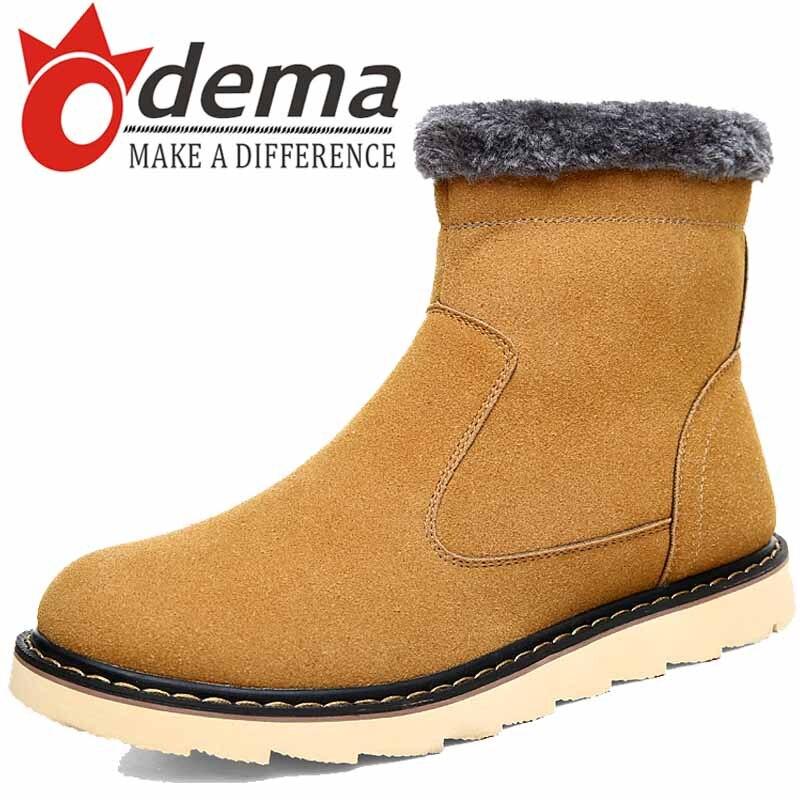 Mens Zipper Winter Boots Boot Ri