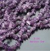"5-8mm Purple crystal Chips Created Gemstone loose Beads Freedorm Beads 34 ""1 string"