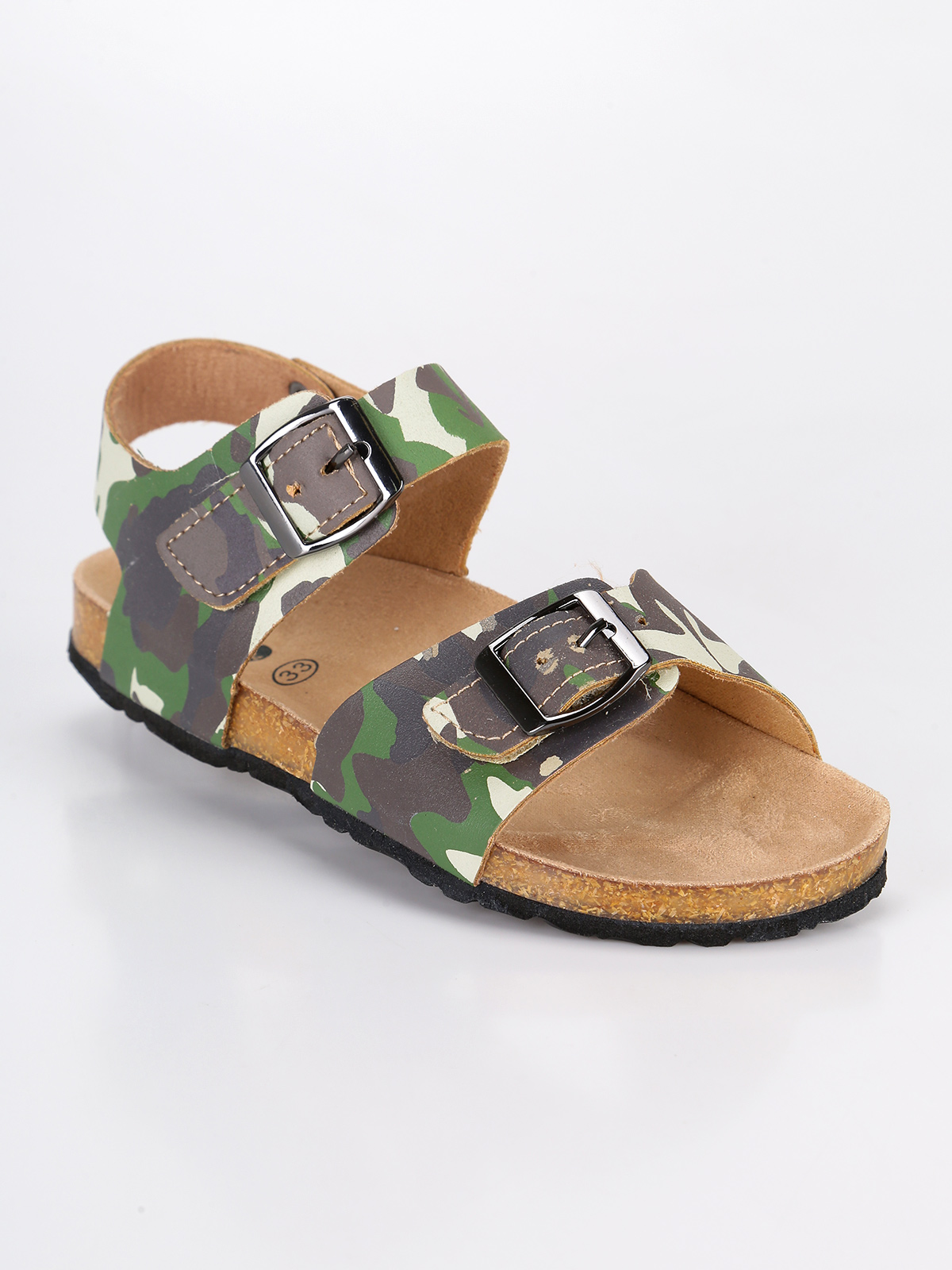 ACE Sandals camouflage with buckles|  - title=