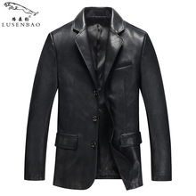 Leather Jackets Black Leather Jacket Coats Male Faux Leather Jackets Suit Collar Male Casual  Leather Jackets