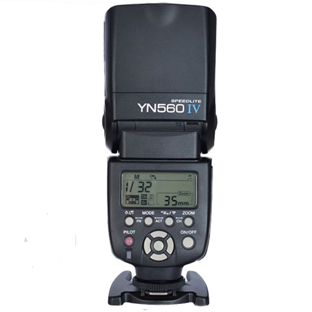 Yongnuo YN-560 IV Flash Speedlite for Canon Nikon Pentax Olympus DSLR Cameras YN560 4 560VI upgrade version of YN560 II YN560III yongnuo yn560 iv yn560iv wireless master slave flash speedlite for canon nikon pentax olympus fujifilm panasonic dslr cameras