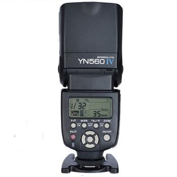 Yongnuo YN-560 IV Flash speedlite do canona Nikon Pentax Olympus lustrzanki cyfrowe YN560 4 560VI aktualizacja wersji YN560 II YN560III tanie i dobre opinie Sony Fujifilm 10*10*20 4*AA 5600K