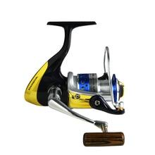 цена на Okuma MSLII-20/30/40/45/55 Spinning Reel Fishing Gear 6+1BB Sea Pole Roller Subwheel Carp Fishing Reel Trolling Wheel 5.0:1