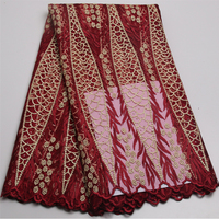 Newest Design Tulle Lace For Wedding Dress High Quality Pink African French Net Lace Fabric With