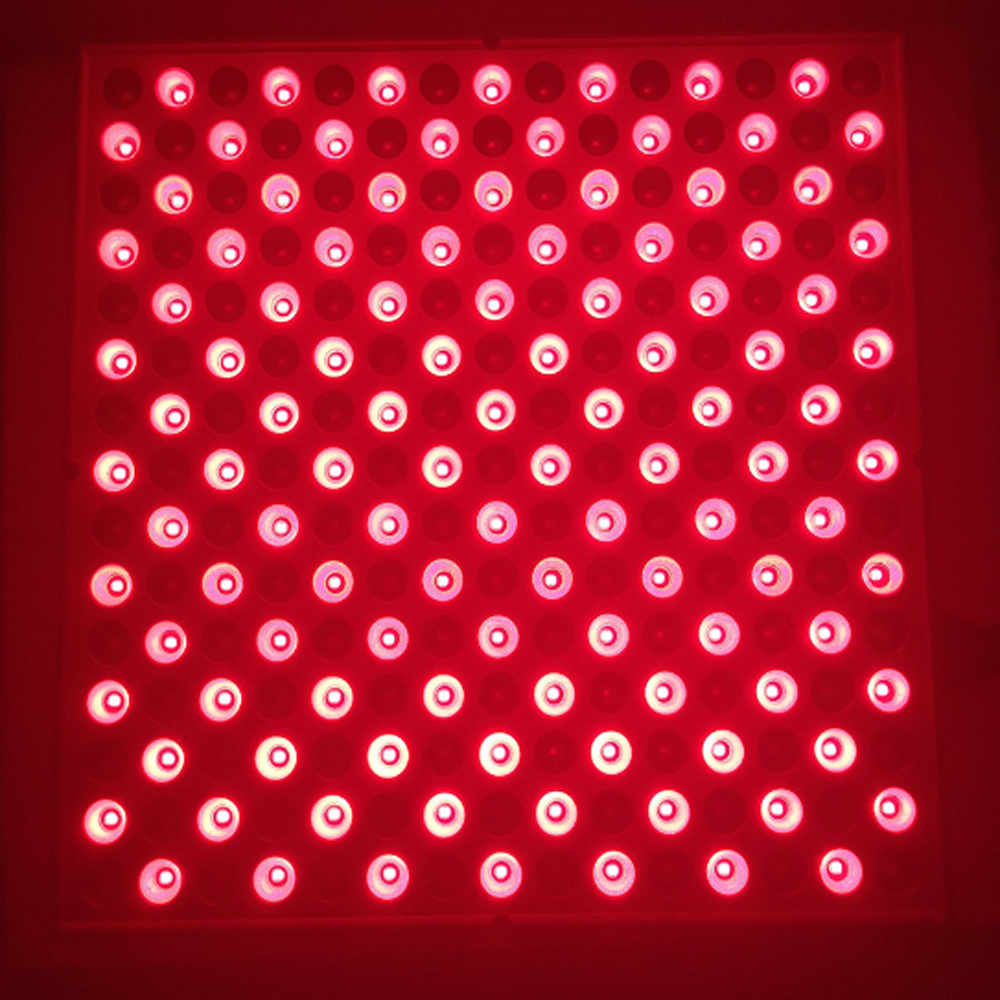 Red 660nm Mixed IR 850nm 45W LED Plant Grow Light SMD 225 LED Grow Lamp For Indoor Plants Flowering Blooming AC85-265V