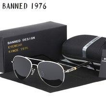 31d12ad2ff HD gafas de sol polarizadas para hombres marca nuevo gafas de sol hombres  para conducir de lujo genial recubrimiento espejo gafa.