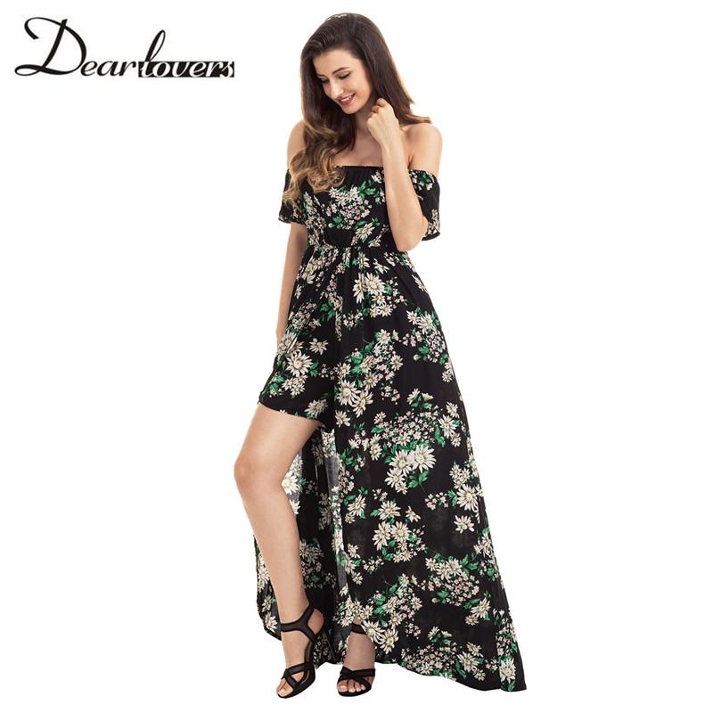 HTB18abvRXXXXXbQXpXXq6xXFXXXT - Maxi Dress Floral Slit Romper Long Dress JKP062