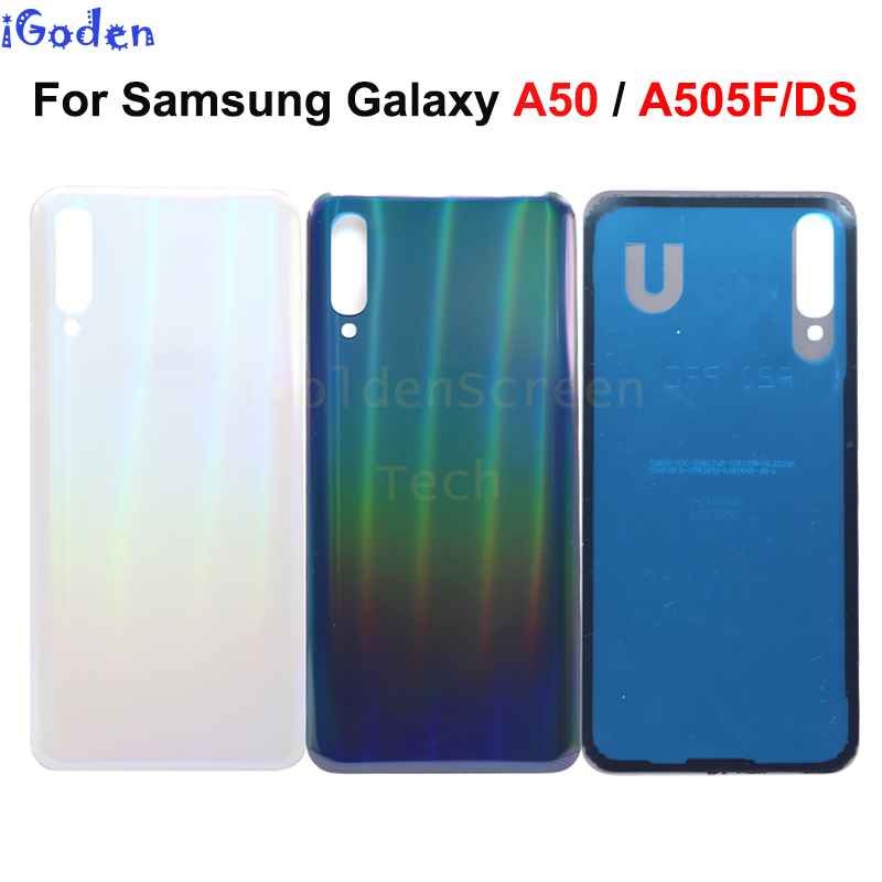 Back Battery Cover For Samsung Galaxy A50 A505 SM-A505F Rear Door back Housing Case Replacement for samsung a50