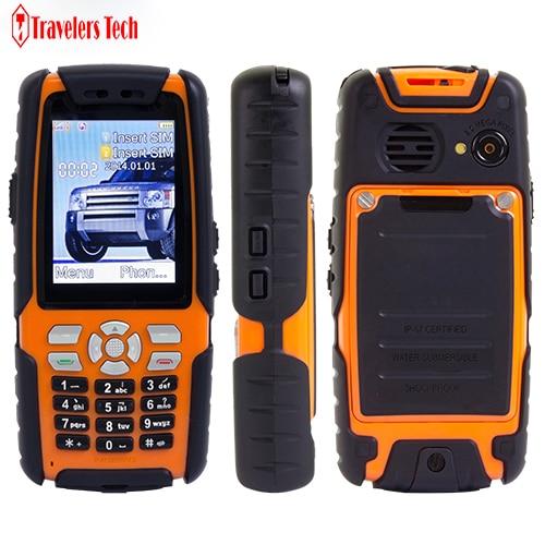 Цена за Оригинал ALPS L9 прочный водонепроницаемый Мобильный Телефон С аналоговым ТВ 3800 мАч Батареи Dual SIM Фонарик 2.4 дюймов