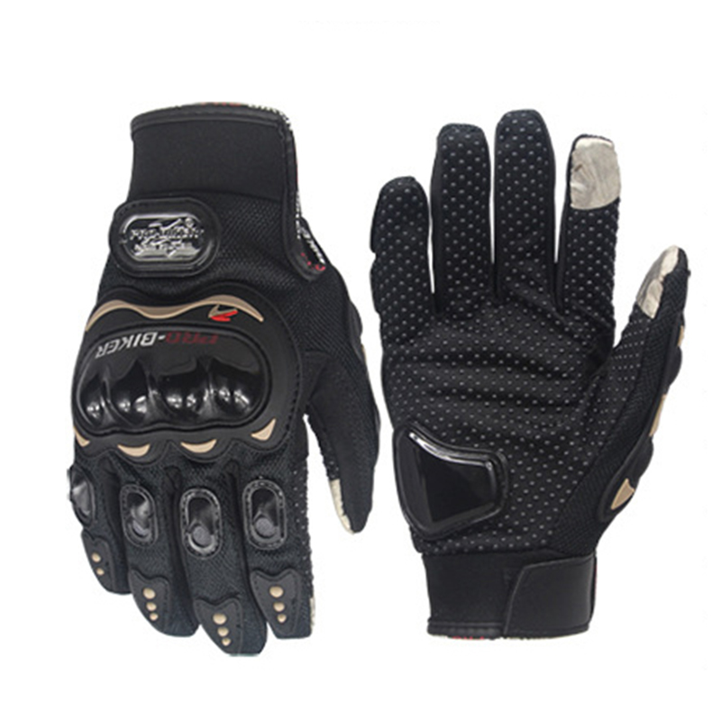 Yesplease Full Finger Outdoor Sport Racing Motorbike Gloves New Style Motorcycle Gloves Motocross Protective Breathable Glove