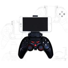 QIANINO TI-465 Wi-fi Android Bluetooth Gamepad Sport Controller Joystick For Android iOS PC with Cell Cellphone Holder Gamepad