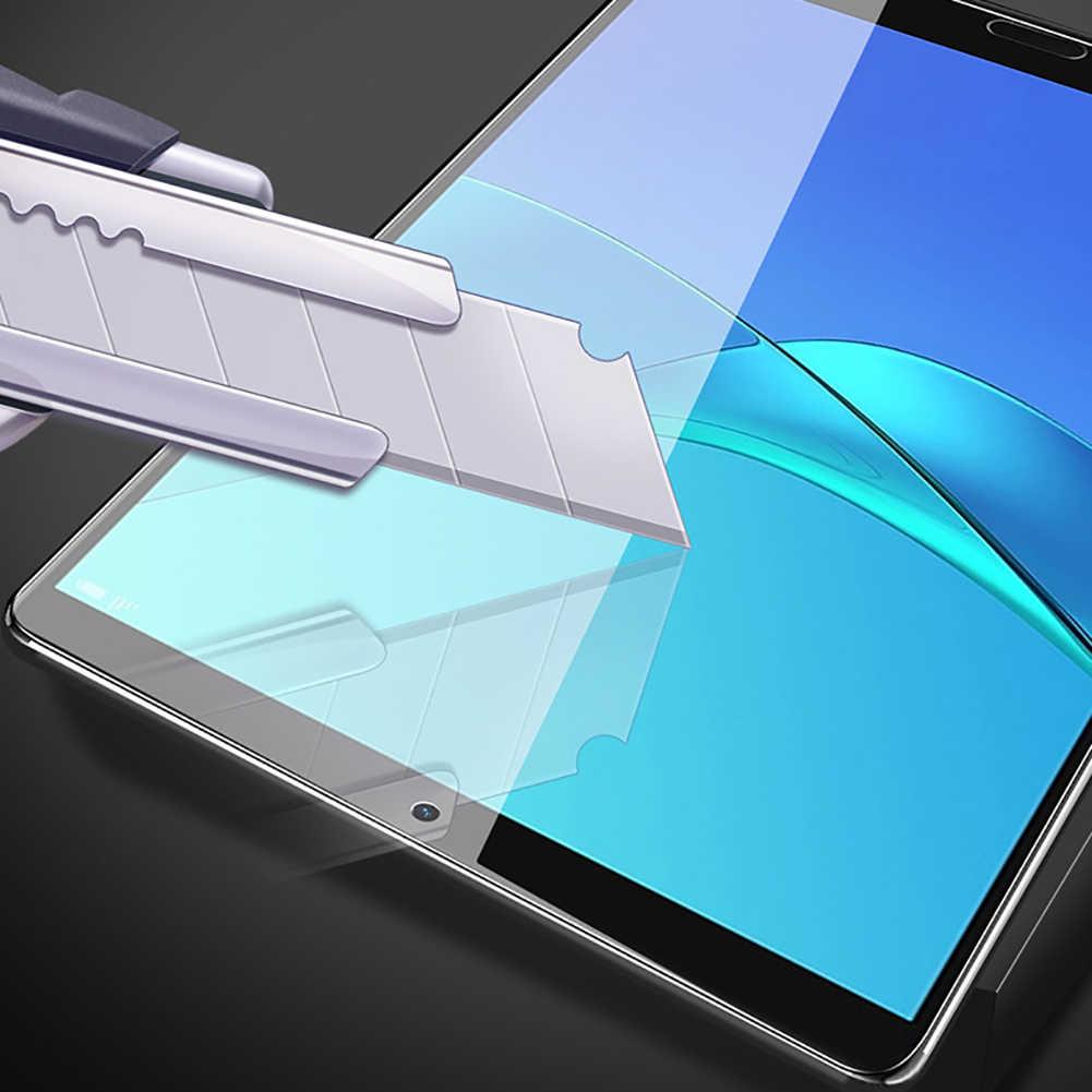 Nueva llegada 1/3 piezas cubierta completa Pantalla de vidrio templado покровитель película para Huawei MediaPad T3