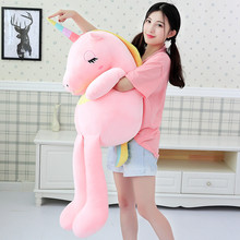 hot deal buy qwok valentines days gift unicorn plush toys 2019 giant stuffed & plush animals unicornio birthday present kids girl 60-140cm