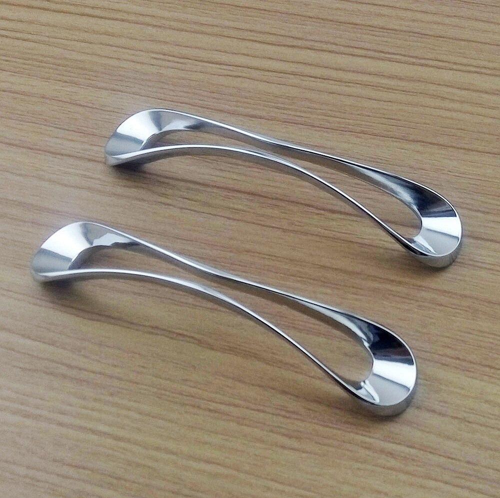chrome kitchen cabinet handles ebay chrome kitchen door hand