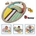Nova Educação Brinquedos Do Bebê Jogo Cobertor Tapete Pad Mictório À Prova D' Água de Altura altura Da Infância cobertor esteiras mudando boneca música