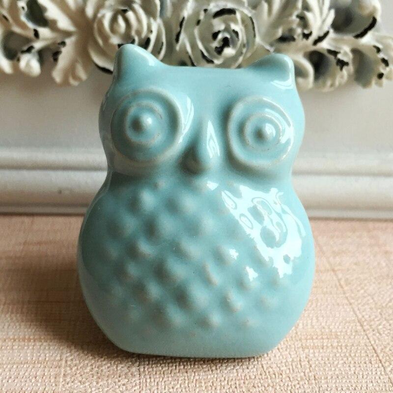 owl shaped cabinet hardware home decor accessory unique decorative door knob for cabinet