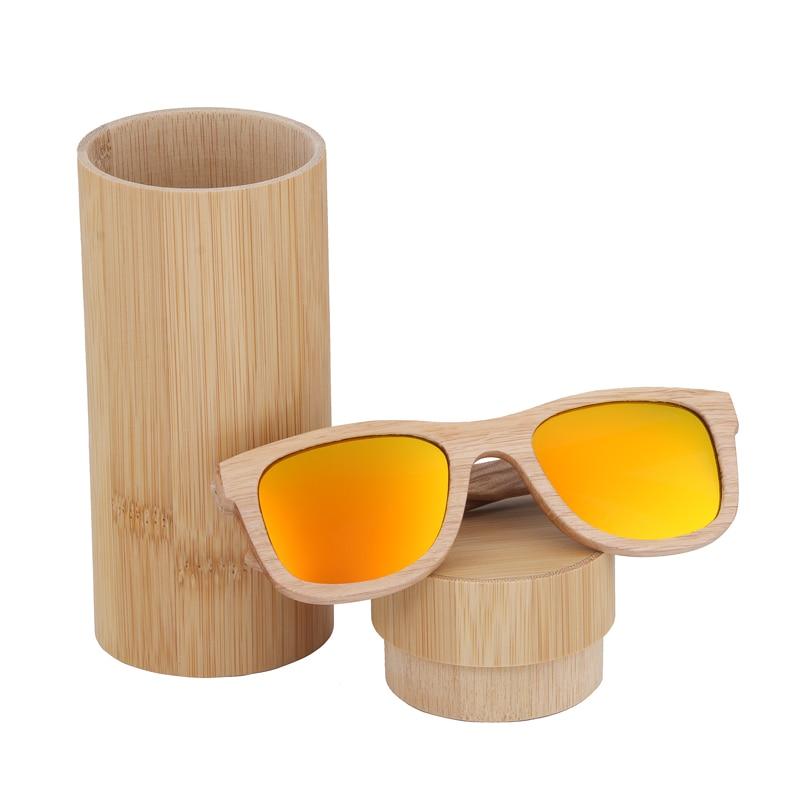 BerWer Terpolarisasi Kacamata Matahari Retro Pria dan Wanita Mewah Kacamata Kayu Buatan Tangan untuk Teman-teman sebagai Hadiah Dropshipping OEM