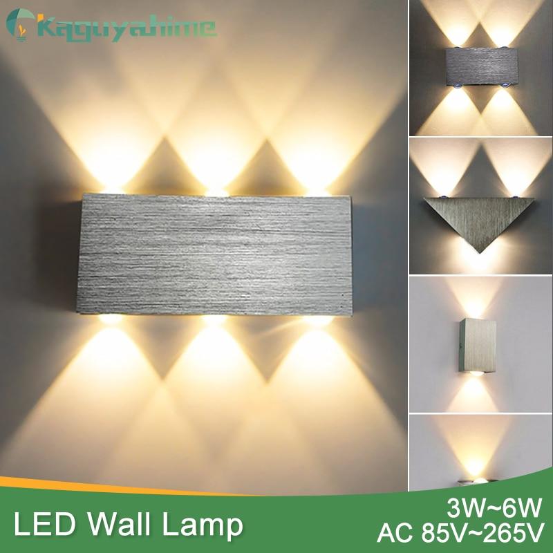 NEW Wall Lamp Modern Sconce Stair led wall Light Fixture Living Room Bedroom Bedside Indoor Lighting Home Hallway Loft Silver стоимость