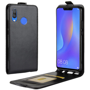 Image 5 - 名誉 8C アップダウン垂直フリップ財布革カードホルダーケース Huawei 社の名誉 8C Honor8C フル保護電話カバーケース