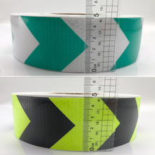 5cmx25m  Reflective Safety Stickers Night Driving Waterproof Wide Warning Tape Bicycle Accessories