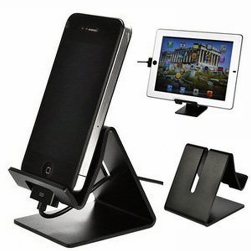 buy solid aluminum metal desktop stand for e reader iphone6 6 ipad mini iphone. Black Bedroom Furniture Sets. Home Design Ideas