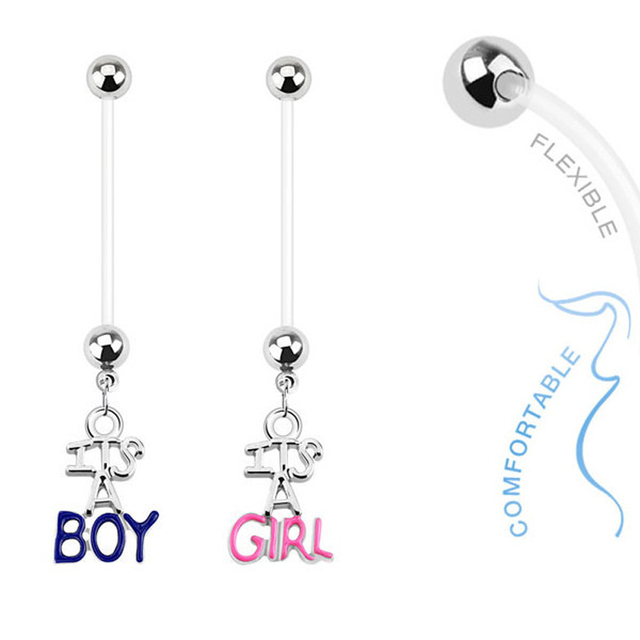 Pregnant Belly Button Ring
