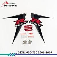 High Quality Reflective Sticker Whole Vehicle Sticker fit for suzuki GSXR600 GSXR750 gsxr 600 750 K6 2006 2007