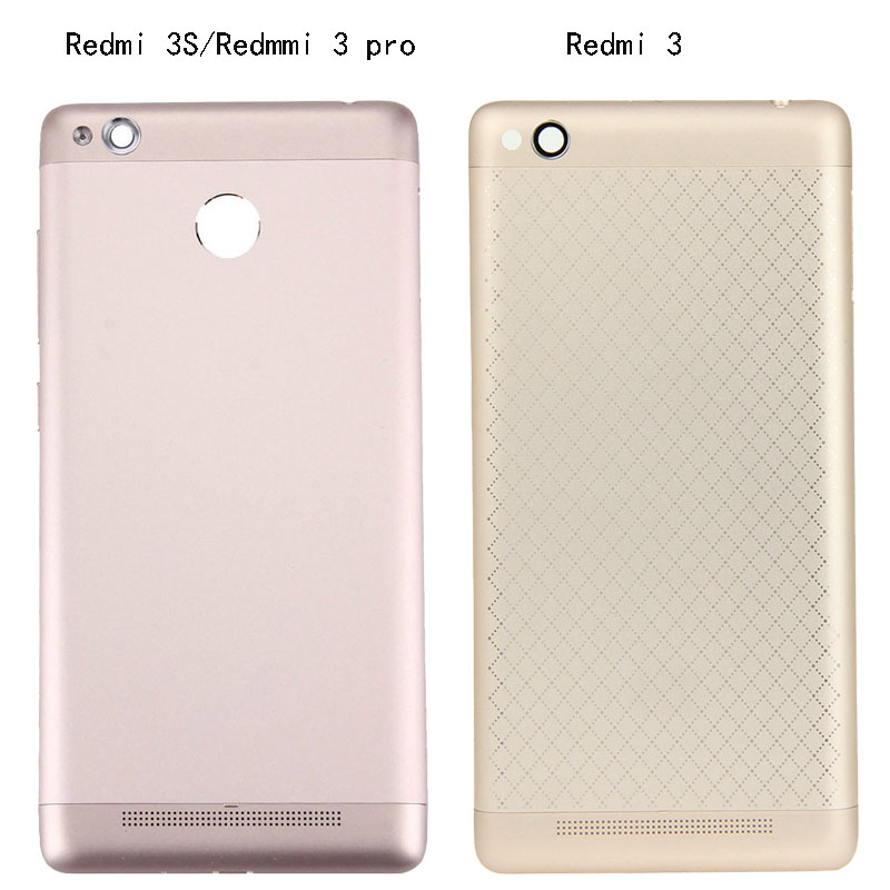 For Xiaomi <font><b>redmi</b></font> 3 <font><b>redmi</b></font> <font><b>3s</b></font> <font><b>redmi</b></font> 3 pro <font><b>Battery</b></font> Back <font><b>Cover</b></font> case +side keys For <font><b>Redmi</b></font> 3 <font><b>3s</b></font> 3pro new image