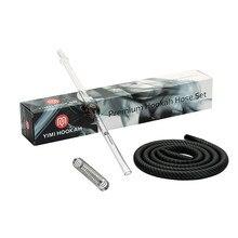 Yimi Premium Hookah Hose Set 40cm Chicha Mouthpiece 1.5m Shisha Silicone Hose Hookah Spring Accessories