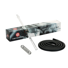 Yimi jeu de tuyaux pour narguilé Premium, embout de 40cm, 1.5m, avec tuyaux en Silicone, accessoires pour le printemps