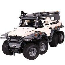 Nowy LEPIN 23011B 3021 Sztuk Technic Serii pojazdu terenowego Modelu Budynku Zestawy Bloków Zabawki Edukacyjne Klocki Kompatybilne Prezent 5360