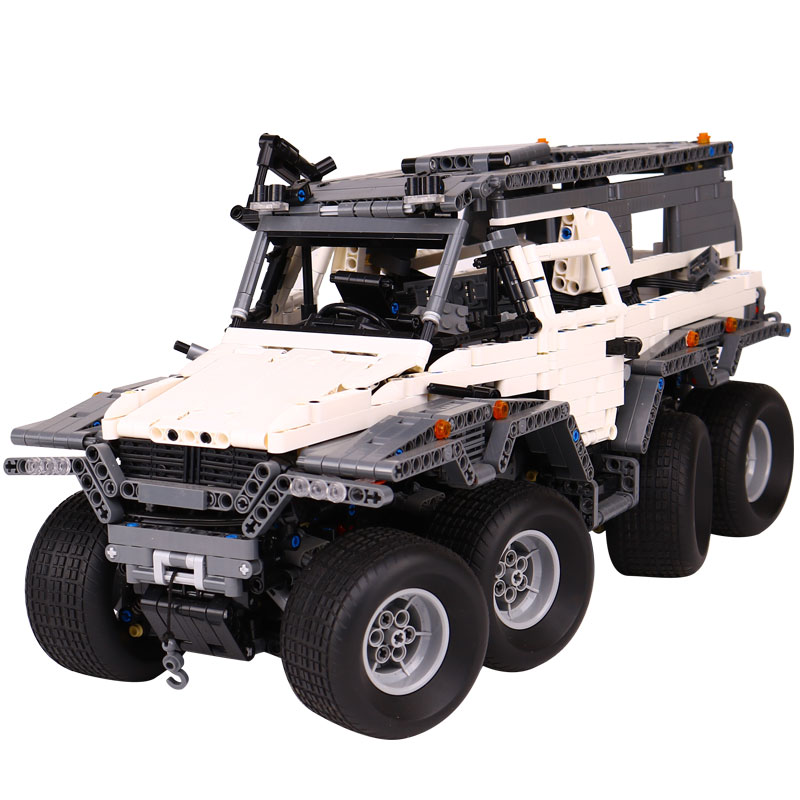New LEPIN 23011B Technic Series Off-road vehicle Model Building Kits Block Educational Bricks Compatible Toys Gift LegoING 5360 lepin 22001 pirate ship imperial warships model building block briks toys gift 1717pcs compatible legoed 10210