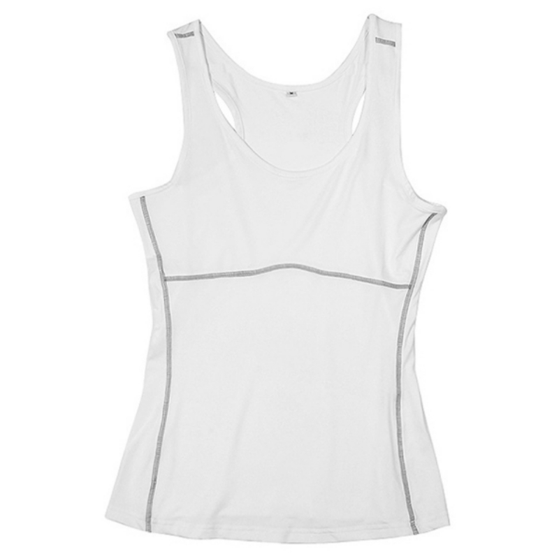 Screaming Retail Price Women Gym Sports Vest Running Top Yoga Girl Stretch Sleeveless Tee Shirt Jersey mint green casual sleeveless hooded top