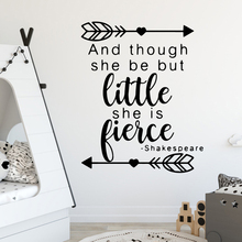 Cartoon sentence Environmental Protection Vinyl Stickers For Kids Room Living Home Decor Decal Creative