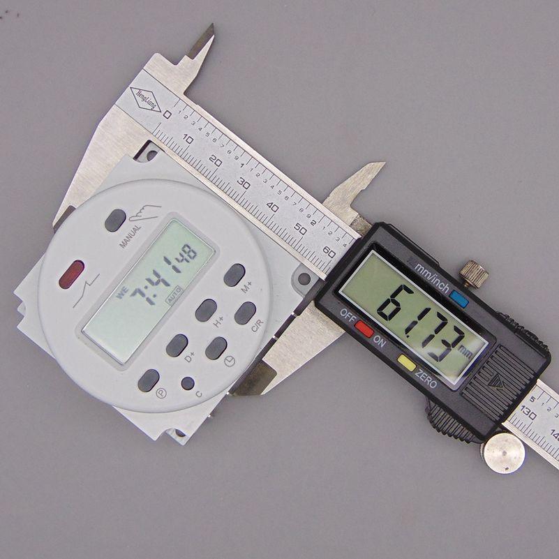 OKtimer CN101A AC 220 V 230 V 240 V Timer LCD digitale Timer - Strumenti di misura - Fotografia 4