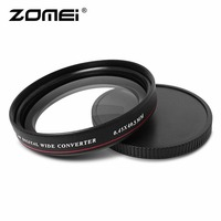 ZOMEI Ultra Thin 0 45X Wide Converter Wide Angle Multi Coated Optical Glass Filter 40 5mm