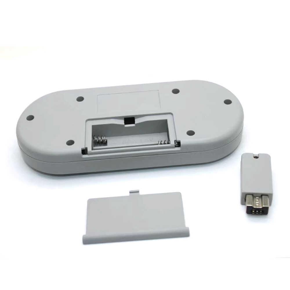 50 STUKS Draadloze Knop Stijl Gaming Controller voor Super N-T-D klassieke editie Gamepad voor S-N-E-S mini console