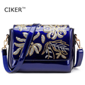 CIKER Brand Sequins Designer Women's Leather Messenger Bags Vintage Single Shoulder Bag Women Crossbody Bags Handbags For Ladies