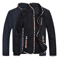 Повседневная Куртка Мужчины Случайные куртки мыть пальто На Открытом Воздухе Стенд воротник Верхняя Одежда jaqueta masculina Пальто куртка плюс размер 6XL 7XL H98