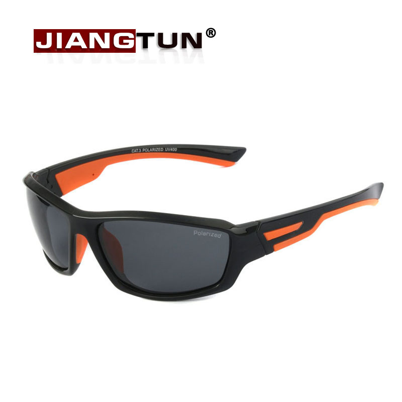 2cfa41a189f57 JIANGTUN Sport Sunglasses Men Bicolor Polarized Sun Glasses Women Brand  Designer Oculos De Sol Zonnebril With Original Case