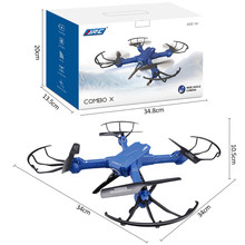JJR/C H38WHIFI Wide Angle 2MP Pressure Altitude Hold RC Helicopters Drone 2.4G 4CH Four-axis aircraft RC Quadcopters