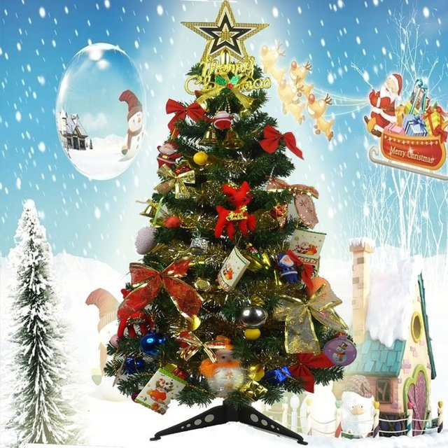 hot sale90cm mini desktop christmas tree for children with christmas tree ornamentschildrens - Childrens Christmas Ornaments