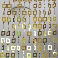 10m Interior DIY Laser Sequin Decoration Door Curtain Festivals Party Christmas Wedding Supplies