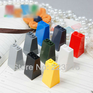 Free Shipping! 3684 20pcs *Roof Tile 2X2X3 73 Gr.* DIY Enlighten Block Bricks,Compatible With Assembles Particles