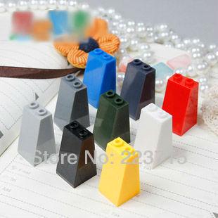 Free Shipping! 3684 20pcs *Roof Tile 2X2X3 73 Gr.* DIY Enlighten Block Bricks,Compatible With Assembles Particles