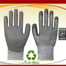 NMSafety PU Coated Cut Resistant Gloves, Non-slip, Machine Launderable, Ideal for Construction,Wood Working Glove